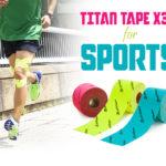 チタンテープ X30 伸縮タイプ スポーツ